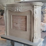 Camino in Marmo - Marble Fireplace