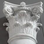 Capitello in Marmo Bianco di Carrara