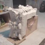 Capitello Marmo Bianco Carrara