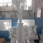 Cavatappi Anna G. by Alessi - scultura in marmo