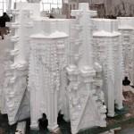 Duomo di Milano restauro Guglia 18 - Montaggio