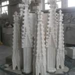 Duomo di Milano montaggio Guglia 18