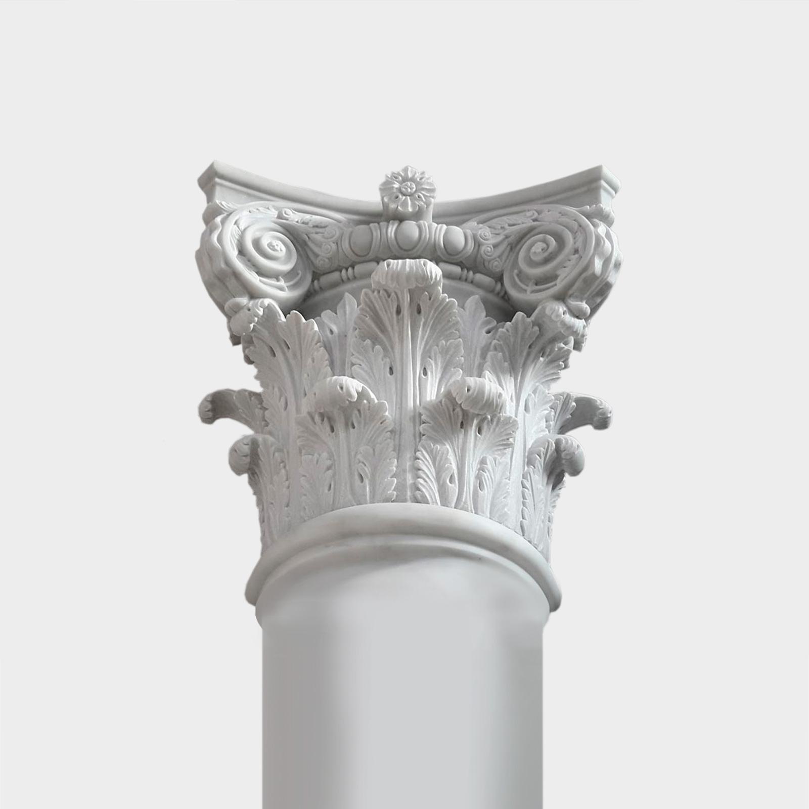 Marble Columns, Marble Capitals, Carrara Marble