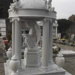 Tempio in Marmo a Besnate - Arte Funeraria