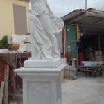 Statua in Marmo della Nike di Samotracia