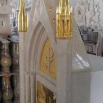 Tabernacolo Oro, Tabernacolo in marmo - 3