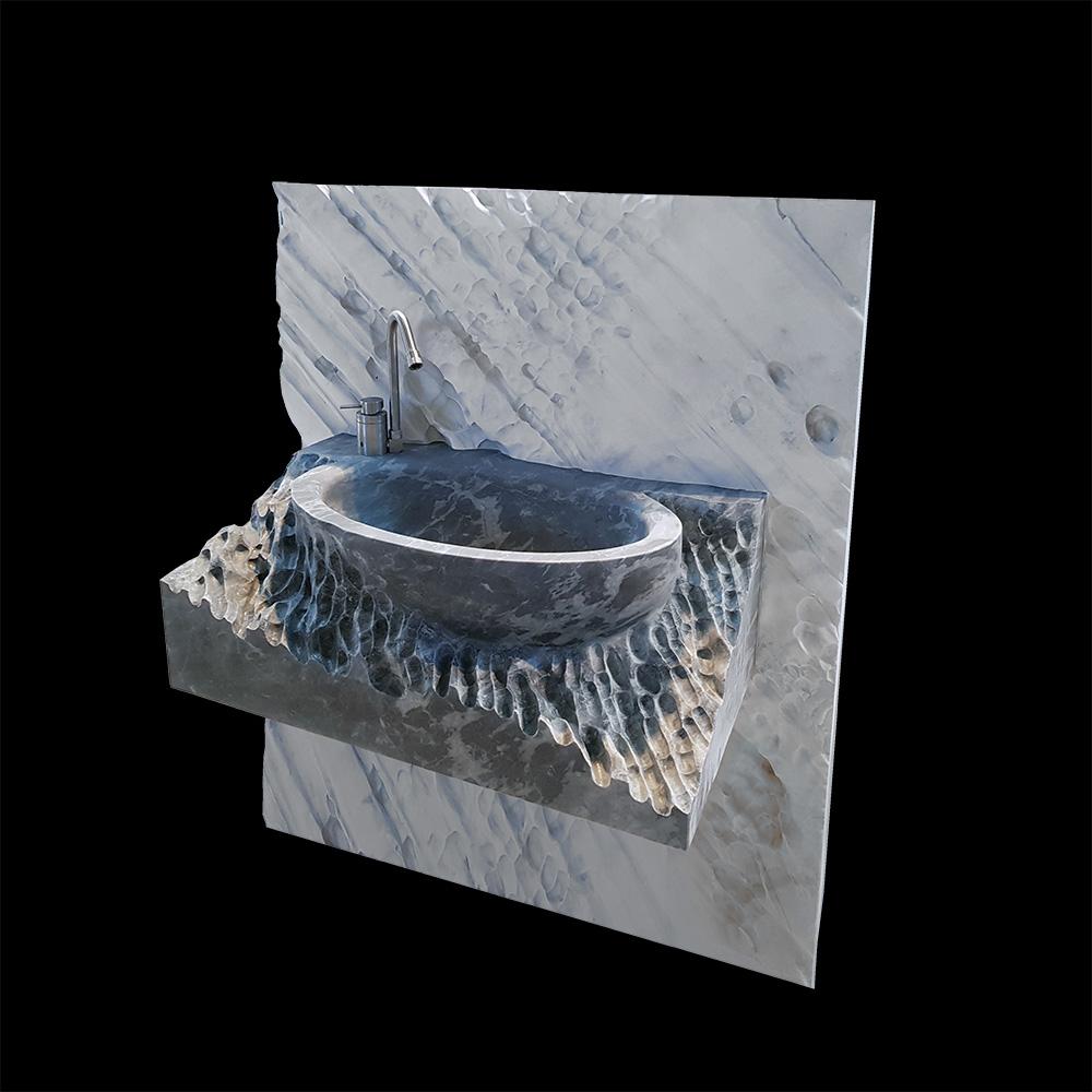 Solid Marble Washbasin